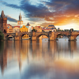 Multicanvas, Podul la apus