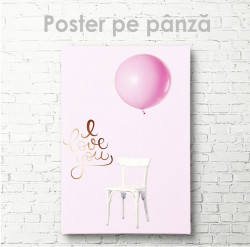 Poster, Balon roz