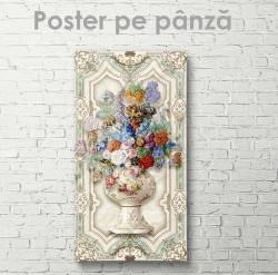 Poster, Buchet de flori multicolori
