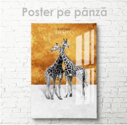 Poster, Girafe