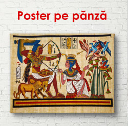 Poster, Istoria egipteană a faraonilor