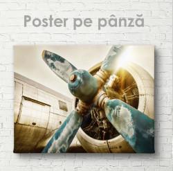 Poster, Morișca avionului