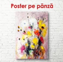Poster, Pictură cu flori