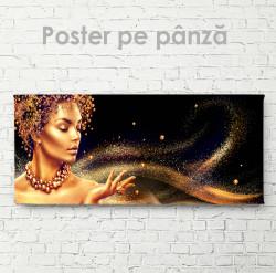 Poster, Praful auriu