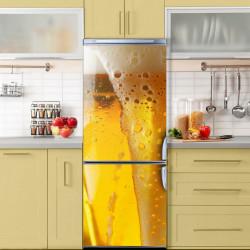 Stickere 3D pentru uși, Paharul cu bere, 1 foaie de 80 x 200 cm