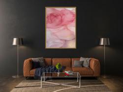 Tablou, Arta fluidă roz