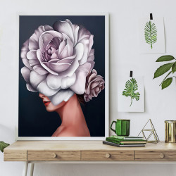 Tablou, Floare delicată