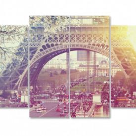 Tablou modular, Răsăritul în Paris.