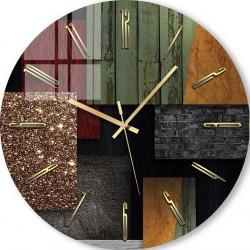 Ceas de perete, Texturele