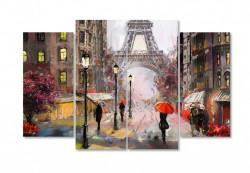 Multicanvas, O plimbare ploioasă