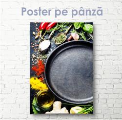 Poster, Condimente diferite în linguri