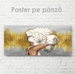 Poster, Domnișoara bujor