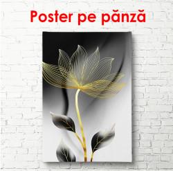 Poster, Floare aurie plină de farmec