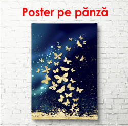 Poster, Fluturi aurii
