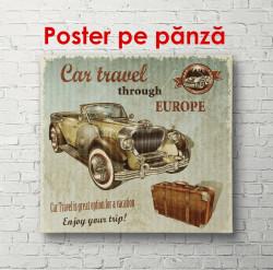 Poster, Mașina retro