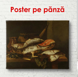 Poster, Natura mortă din pește