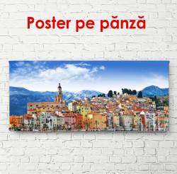 Poster, Peisaj cu un oraș frumos