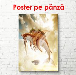 Poster, Zbor miraculos pe cer