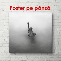 Statuia Libertății în ceață