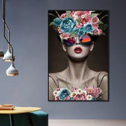 Tablou, Fată glamour