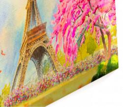 Tablou modular, O dimineață frumoasă în Paris.