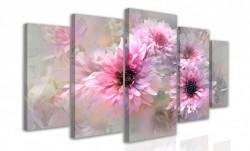 Multicanvas, Crizanteme roze