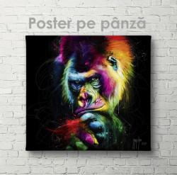 Poster, Artă contemporană a maimuței