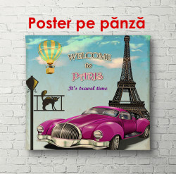 Poster, Bine ați venit la Paris