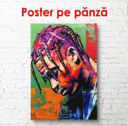 Poster, Cântărețul Travis Scott