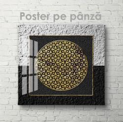 Poster, Cercul într-un pătrat