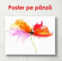 Poster, Floarea abstractă strălucitoare
