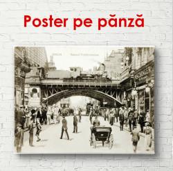 Poster, O fotografie a orașului vechi