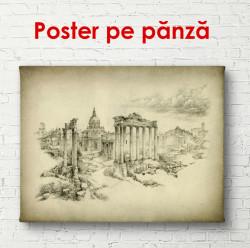 Poster, Orașul pictat