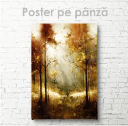 Poster, Pădurea de toamnă