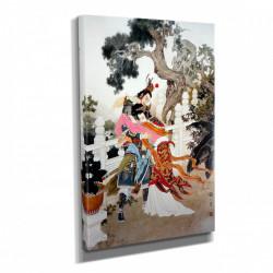 Poster, Pictură în stil japonez