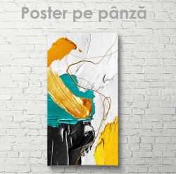Poster, Pictura in ulei