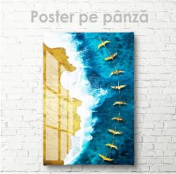 Poster, Stol de păsări aurii peste mare