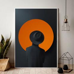 Tablou, Cerc portocaliu