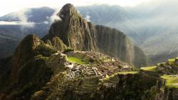 Tablou modular, Misteriosul oraș Machu Picchu