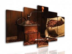Tablou modular, Râșnița de cafea
