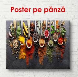 Poster, Condimente în linguri