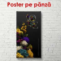 Poster, Dragotea este o floare frumoasă