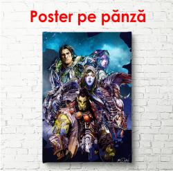 Poster, Eroi fantastici dintr-un univers diferit