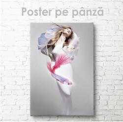 Poster, Fata-pește