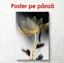 Poster, Floare aurie plină de farmec 3