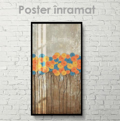 Poster, Flori abstracte
