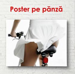 Poster, Fusta albă