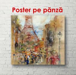 Poster, Parisul pictat