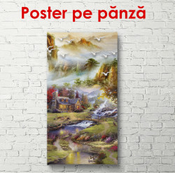 Poster, Peisaj de basm