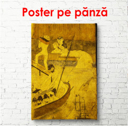 Poster, Pictură din trecut